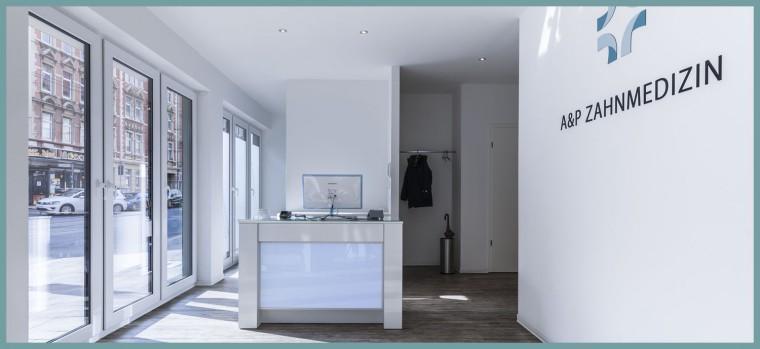 Praxisempfang-A&P-Zahnmedizin-Hannover